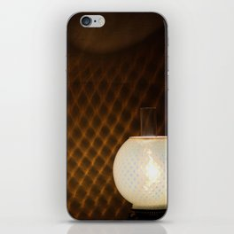 lamp pattern iPhone Skin