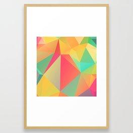 Geometric XIX Framed Art Print