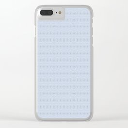 Space Suit Organic Skin Clear iPhone Case