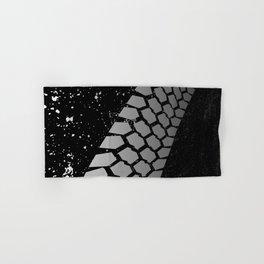 Grunge Skid Mark Hand & Bath Towel