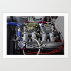 POWERFUL ENGINE Art Print