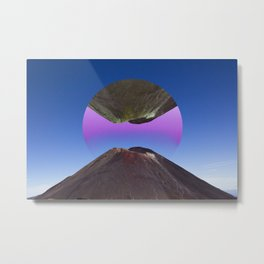 Volcano Summit Metal Print