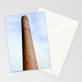 Tall Brick Chimney Stack Stationery Cards