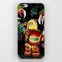 metroid iPhone & iPod Skins featuring LEGO Metroid!! by Meteo Designs