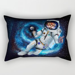 Space cat iPhone 4 5 6 7, ipod, ipad, pillow case and tshirt Rectangular Pillow