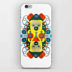 Heisenberg fan art iPhone & iPod Skin