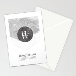 Wittgenstein Stationery Cards