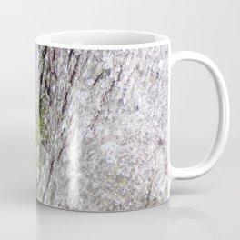 Mossy Bark, Bark of Tree, Moss onTree, Background Texture Coffee Mug