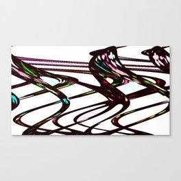 Sword Fight Canvas Print
