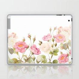Vintage & Shabby Chic - Sepia Roses Flower Garden Laptop & iPad Skin