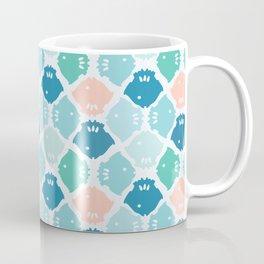 Bright Fish Silhouette Coffee Mug