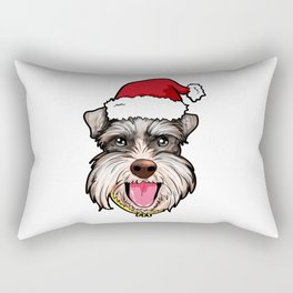 Miniature Schnauzer Rectangular Pillow