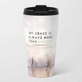 MORE THAN ENOUGH GRACE Travel Mug