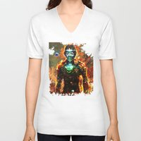 dead space V-neck T-shirts featuring dead space by ururuty