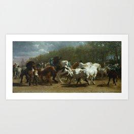 The Horse Fair by Rosa Bonheur 1853 Art Print
