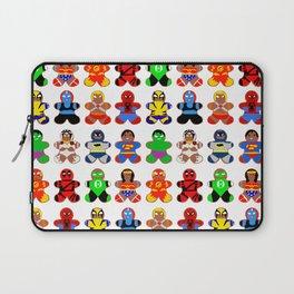 Superhero Gingerbread Man Laptop Sleeve