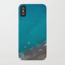 Positano Beach Umbrellas iPhone Case