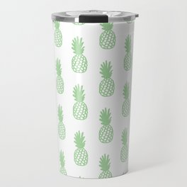 Mint Pineapple Travel Mug