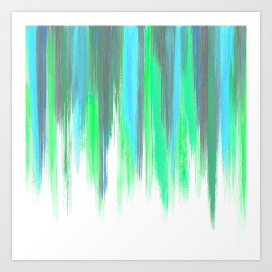Paint Stroke 2 Art Print