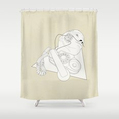 Dependence Shower Curtain