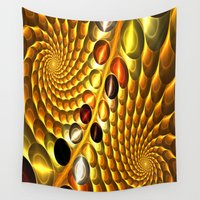 fractal Wall Tapestries featuring Fractal by Digital-Art