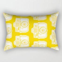 I Still Shoot Film Holga Logo - Reversed Yellow Rectangular Pillow