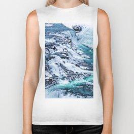 Gulfoss Waterfall Iceland Biker Tank