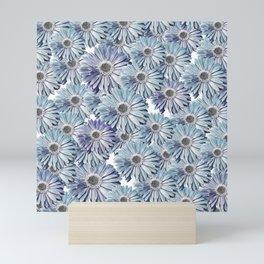 bed of daisies Mini Art Print