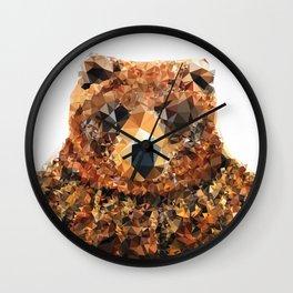 Crystal Bear Wall Clock