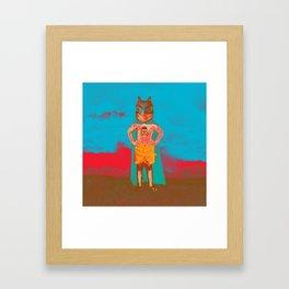 Agitator Framed Art Print