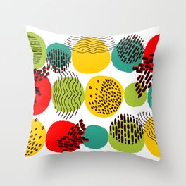 Pattern 003: Seasons Throw Pillow