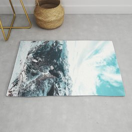 Stormy Cold Day Rug