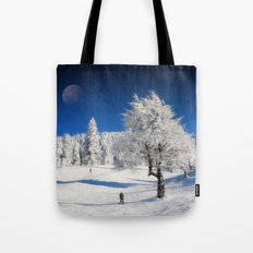 New Winter Day  Tote Bag