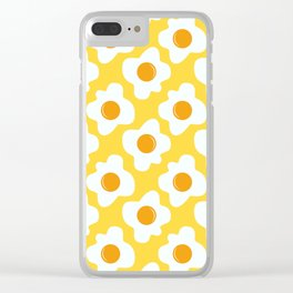 Scrambled eggs Clear iPhone Case