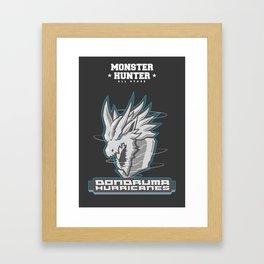 Monster Hunter All Stars - The Dondruma Hurricanes Framed Art Print