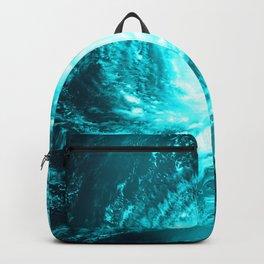 WaTeR Aqua Turquoise Hurricane Backpack