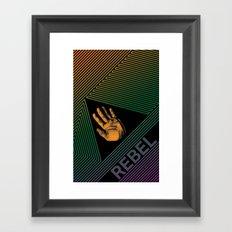 The Rebel Framed Art Print