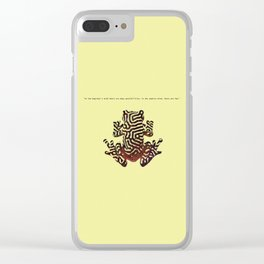 When a frog becomes a frog Clear iPhone Case