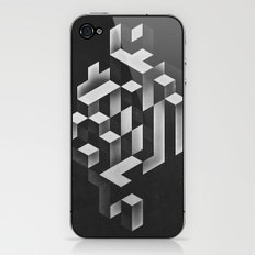isyhyrrt gryy iPhone & iPod Skin