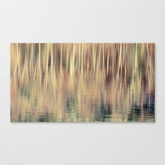 Abstract Trees Vintage Style Canvas Print