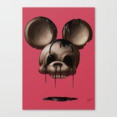 Mickey 1: Chocolate Canvas Print