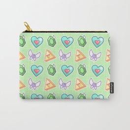 Legend of Zelda Pattern Carry-All Pouch