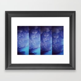 Mammatus Clouds Framed Art Print