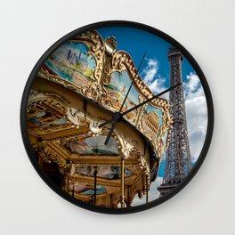 I heart Paris Wall Clock