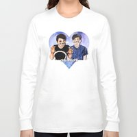 danisnotonfire Long Sleeve T-shirts featuring DAN AND PHIL by Share_Shop