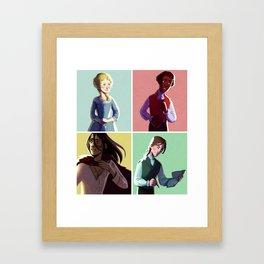 Frankensquad Framed Art Print