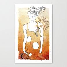 ordinary girl Canvas Print