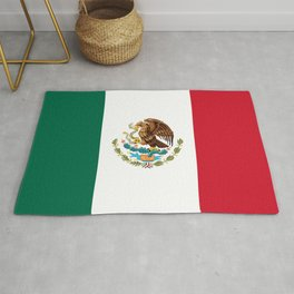 Mexican flag of Mexico Rug