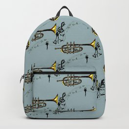 Trumpet Simple Sketch Backpack