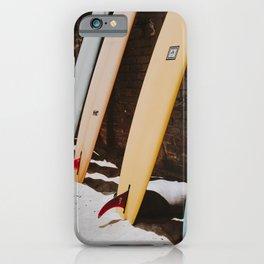 lets surf xxii / malibu beach, california iPhone Case